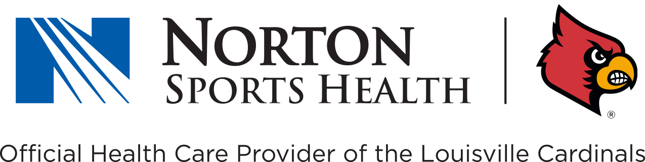 Norton Sports Health is the official health care provider of the Louisville Cardinals