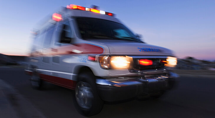 Ride-hailing apps vs  ambulance: When to call 911 | Norton