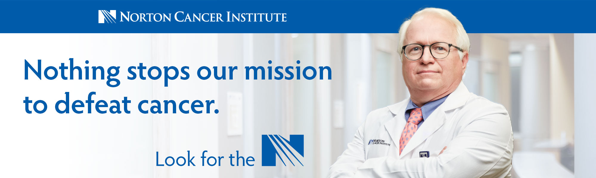 Nothing stops our mission to defeat cancer.