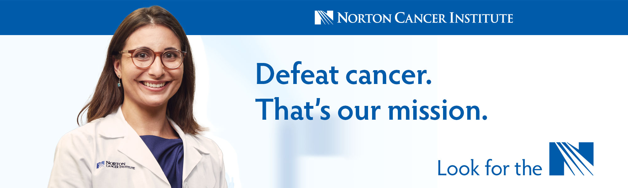 Defeat Cancer. That's our mission.