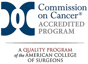 Commission on Cancer Accredited Program seal