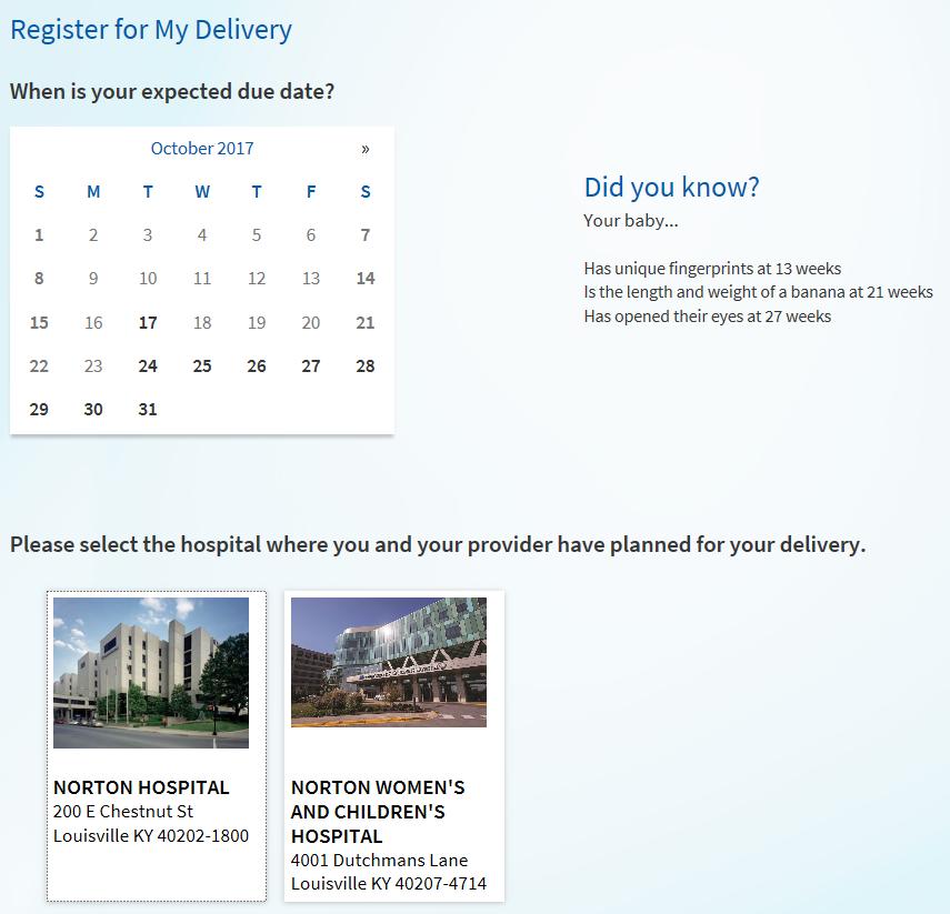 MyNortonChart register delivery