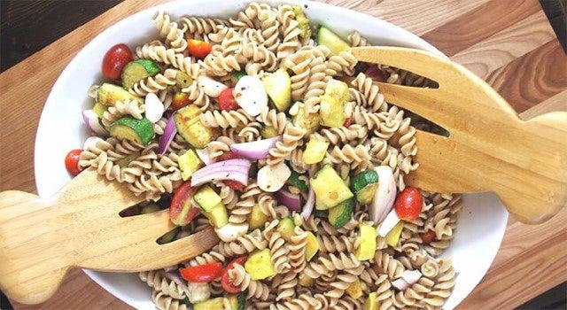 Pasta Salad Recipe With Zucchini And Squash