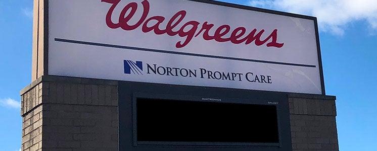 Norton Prompt Care At Walgreens Locations Norton Healthcare